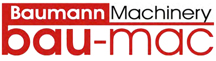 Baumann Machinery Red/Black Logo